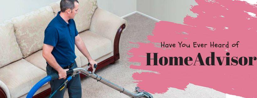 Home advisor carpet cleaning service