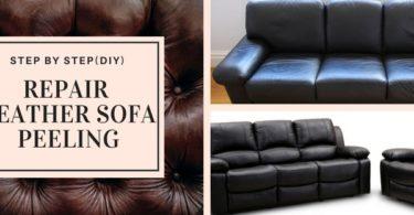 How to Repair Bonded Leather Sofa Peeling