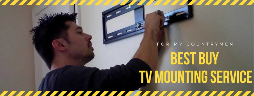 Best Buy tv mounting service