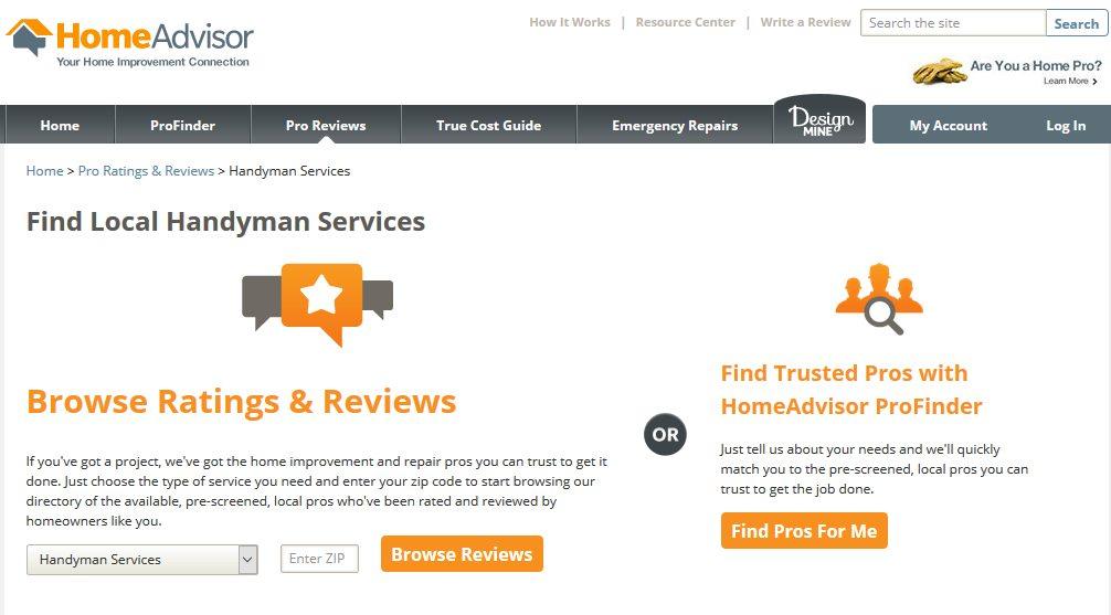 Home Advisor Home Services Review