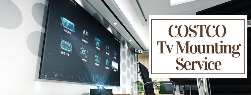 costco tv mounting service