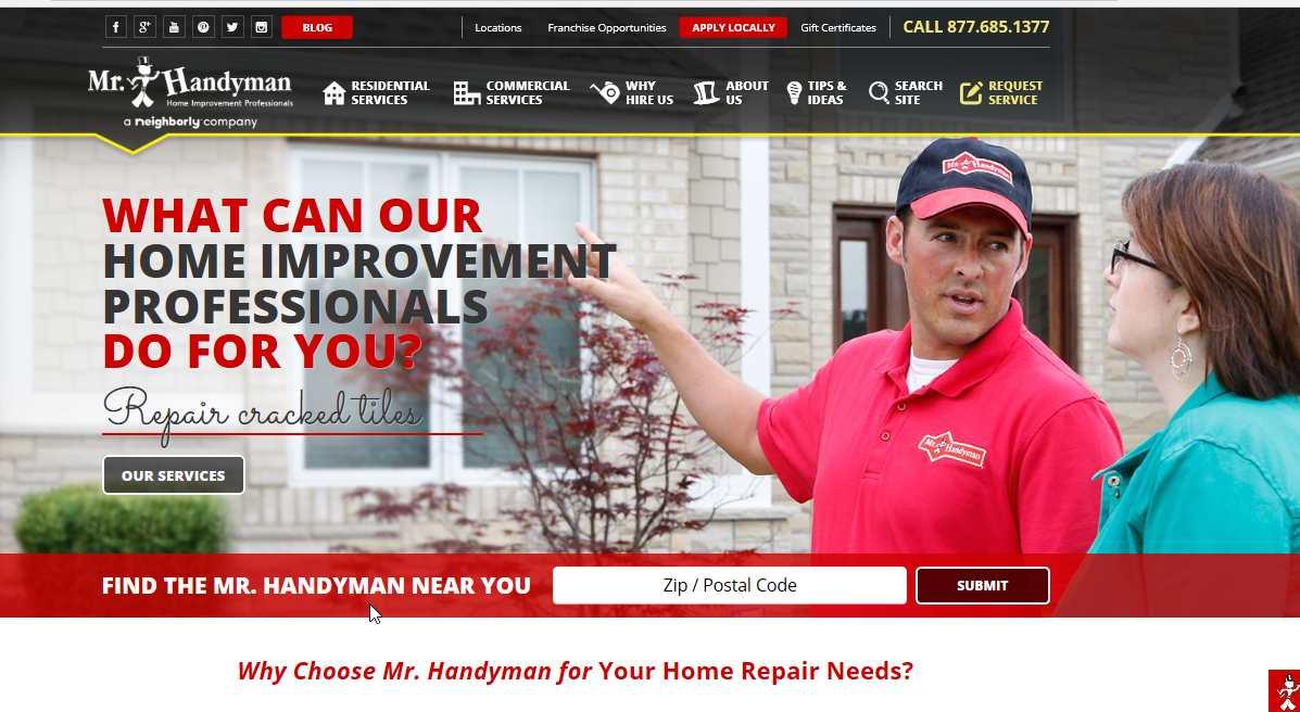 mr Handyman service review