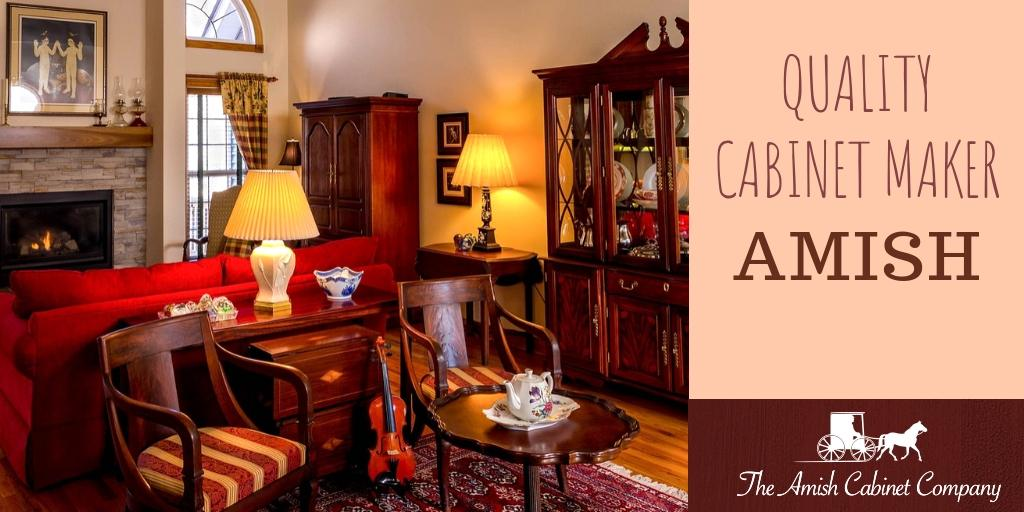 Amish kitchen cabinet makers in the USA