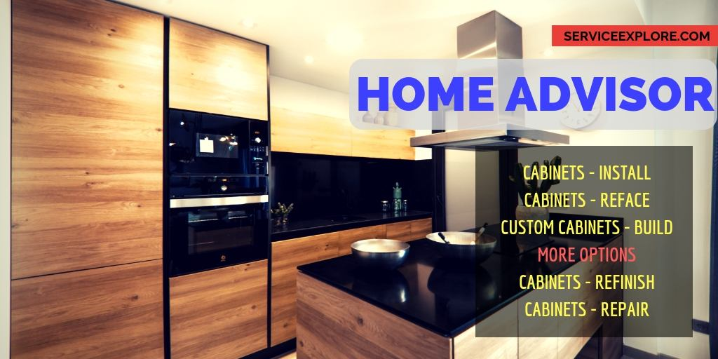 Home advisor custom cabinet makers near me